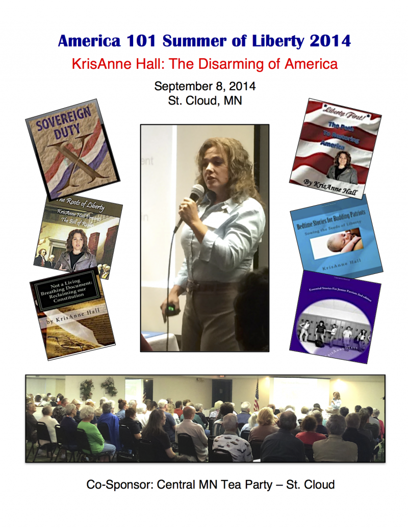 The Disarming of America America 101 KrisAnne Hall